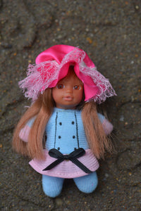 # 6 - Oceane - The French Collection - Cute small baby doll - Stork Babies - beautiful handcrafted dolls