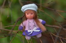 Cute Baby Matchbox Doll for Girls – Marie Elise – The French Collection - Stork Babies - beautiful handcrafted dolls