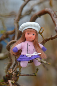 #8 - Marie Elise - 2015 Collection - Stork Babies - beautiful handcrafted dolls
