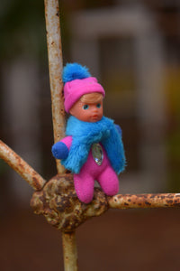 Adorable Baby Matchbox Doll for Girls – Amelia – The Diamond Collection - Stork Babies - beautiful handcrafted dolls