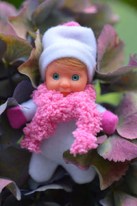 Cute Baby Matchbox Doll for Girls – Paxe – The Italian Collection - Stork Babies - beautiful handcrafted dolls
