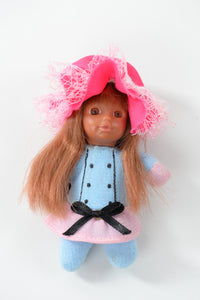 Cute Baby Matchbox Doll for Girls – Oceane – The French Collection - Stork Babies - beautiful handcrafted dolls