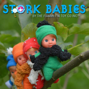 1 Collection of Italian Dolls (8 in collection) - Stork Babies - beautiful handcrafted dolls
