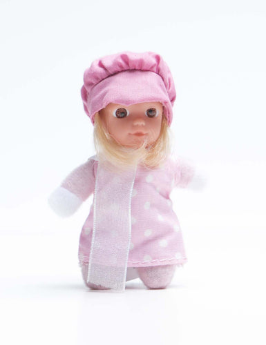 #7 - Marisol - The Spanish Collection - Cute small baby doll - Stork Babies - beautiful handcrafted dolls