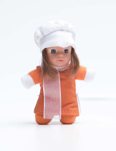 Cute Baby Matchbox Doll for Girls – Margarita – The Spanish Collection - Stork Babies - beautiful handcrafted dolls