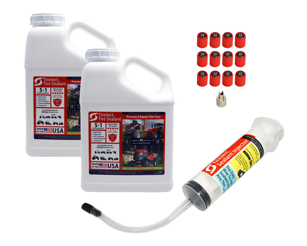 Tractor Tire Sealant - Tire Protection Kit