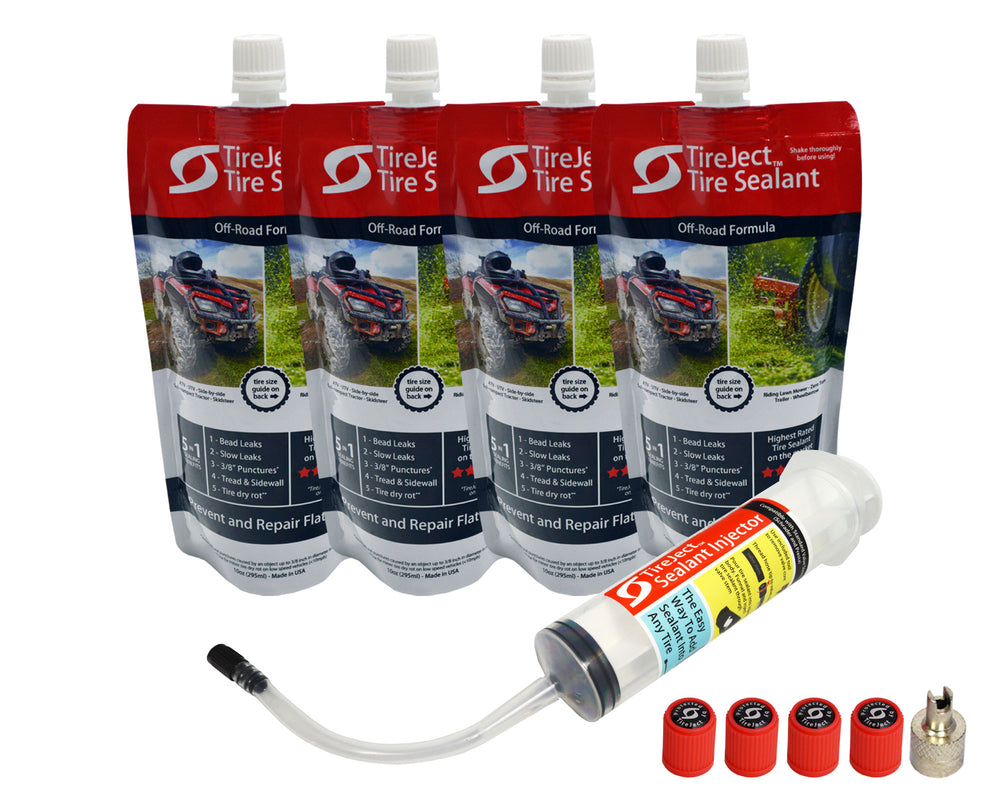 Compact Tractor Tire Sealant - Tire Protection Kit