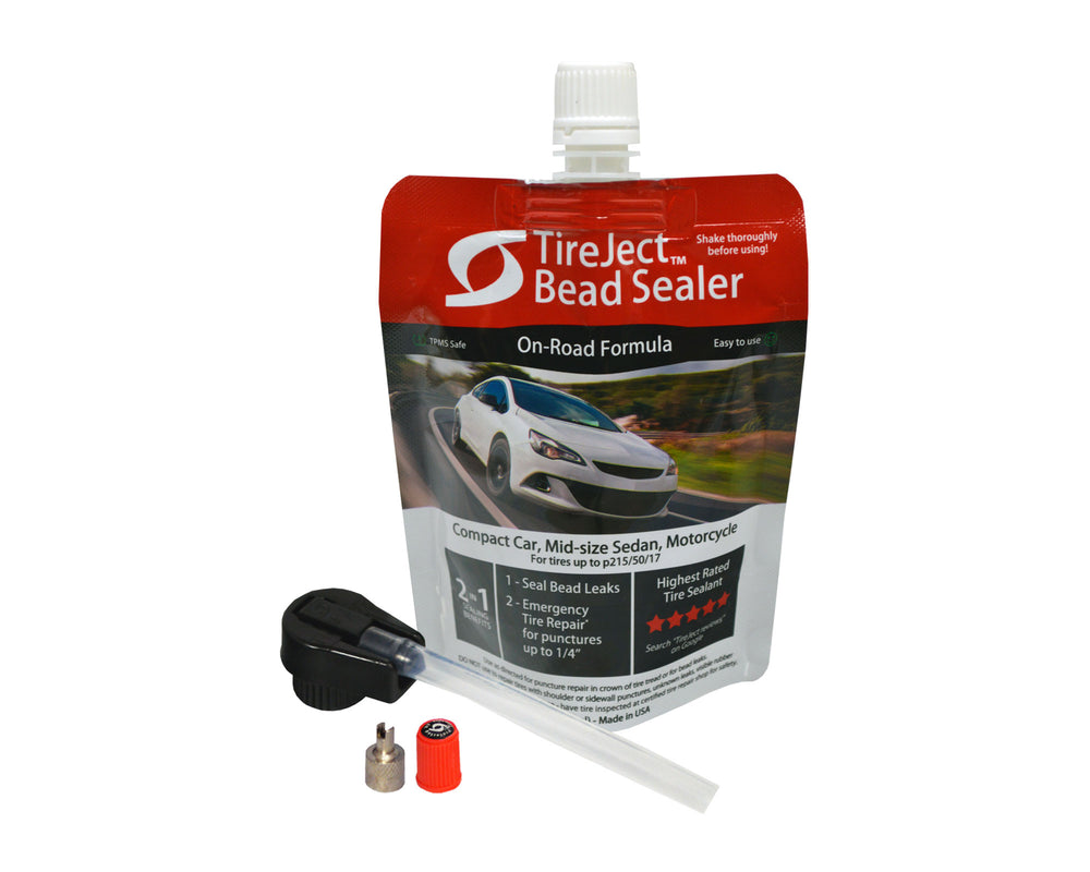 Compact Car 2-in-1 Tire Sealant & Bead Sealer Kit