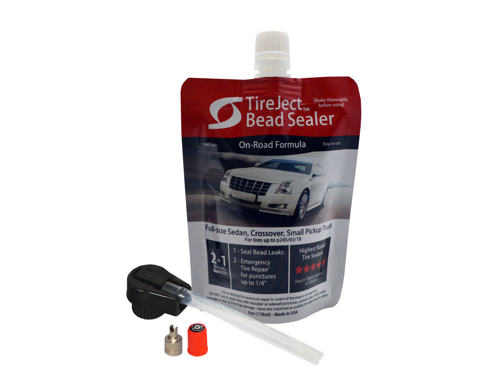 Sedan/Crossover/Truck 2-in-1 Tire Sealant & Bead Sealer Kit
