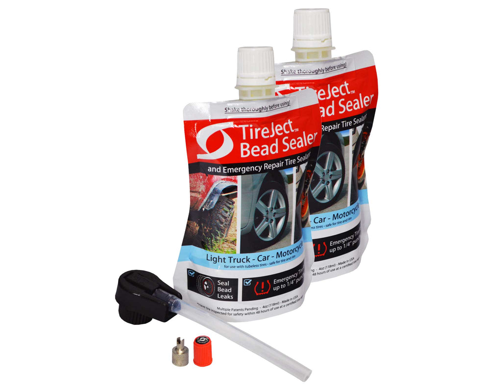 Automotive Tire Sealant - Full-Size Truck & SUV - Bead Sealer & Tire Repair Kit