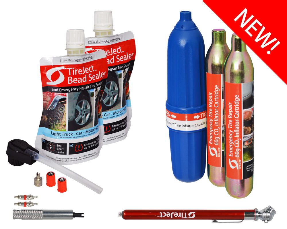 Automotive Emergency Flat Tire Repair Kit