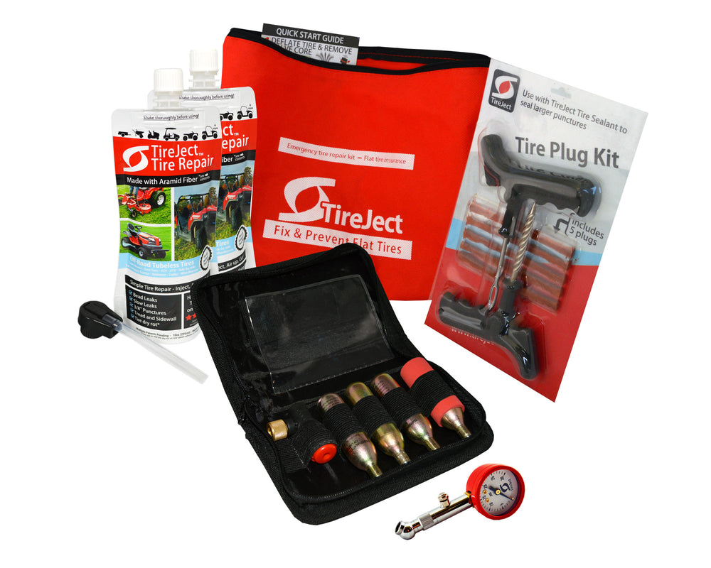 Emergency Tire Repair Kit - Tire Sealant