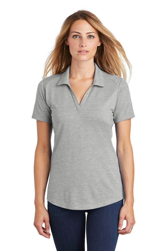Sport-Tek ® Ladies PosiCharge ® Tri-Blend Wicking Polo   LST405