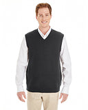 Harriton® Men's Pilblock™ V-Neck Sweater Vest  M415