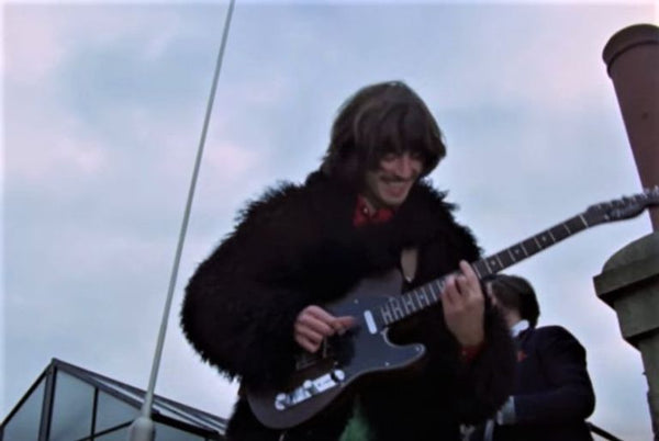 George Harrison y sus guitarras Fender