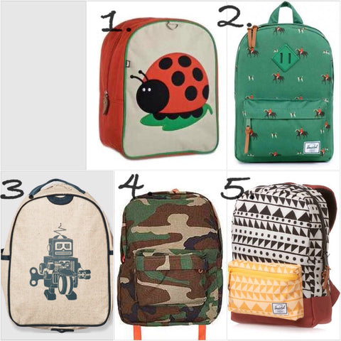 5 Kids Backpacks We Love
