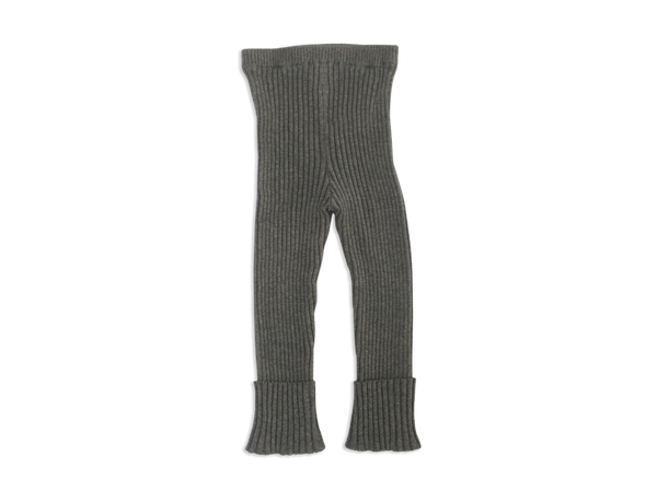 Ribbed Sweater Pants in Graphite