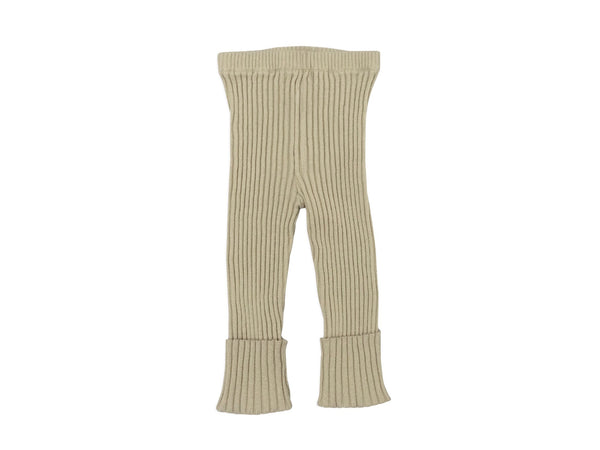 Ribbed Sweater Pants in Linen