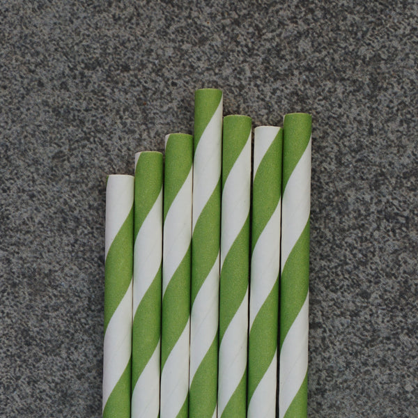 Classic 24 (Slim) / Green Striped
