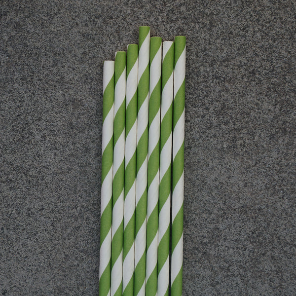 Bottle 24 / Green Striped