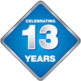 Celebrating 13 Years in Business