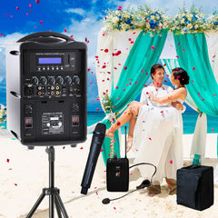 Promic PA-60W Portable PA Celebrants Package