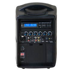 Promic PA-60W Portable Wireless PA System with CD/DVD & Bluetooth
