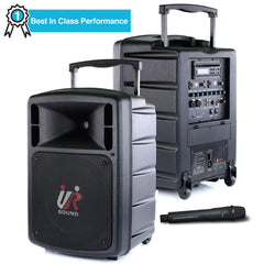 Promic PA-300W Portable Wireless PA System