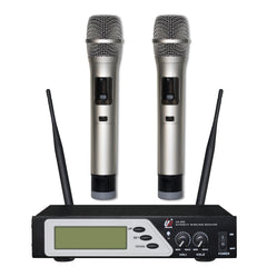 Promic UR-255 Dual Wireless Microphone System