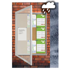 Educate Weather Resistant Notice Case