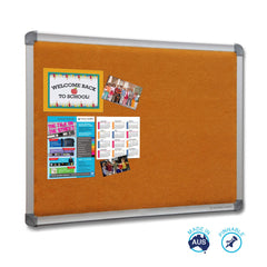 Educate Smooth Velour Pinboard
