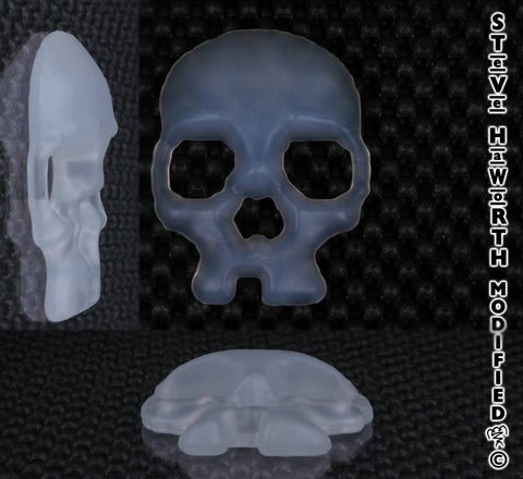 Silicone Skull 2.5 - 63.5MM Wide X 7/16 - 12MM Tall.