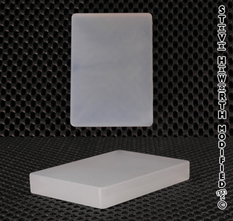 "Silicone Carving Block  3 1/2"" x 2 1/2"" x 1/2"""