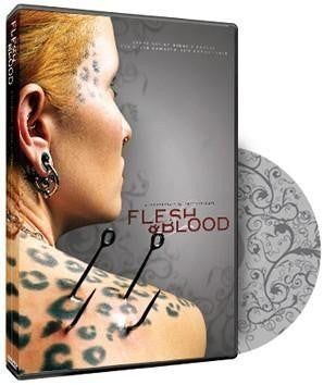 Signed Flesh and Blood DVD