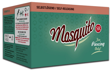 6 Boxes of 50 Mosquito Professional Piercing Needles - Mixed Sizes