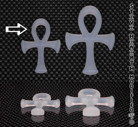 Silicone Ankh 3 1/2 - 89MM Tall X 3/8 - 10MM Thick.