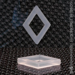 "Rhombus (Diamond) 2"" x 1/4"