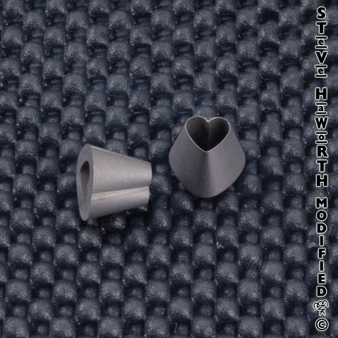 Shaped Ear Punch - Heart