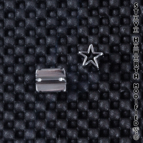 Shaped Eyelet - Star 7/16""
