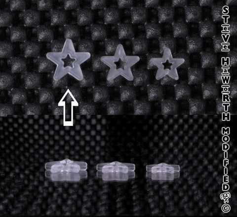 1/2 -13MM X .100 - 2.5MM Miniature Curved Star