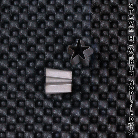 Shaped Ear Punch - Star