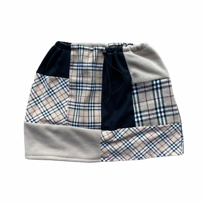 Reworked Burberry Patchwork Skirt