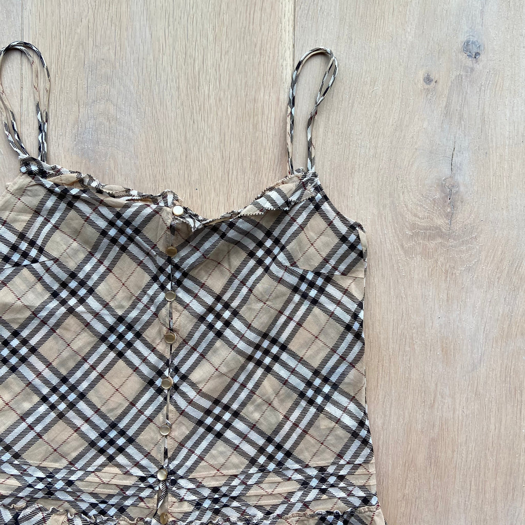 Burberry Nova Check Cami Top
