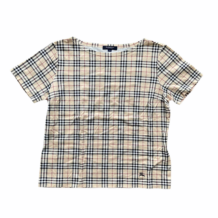 Burberry Nova Check T-Shirt