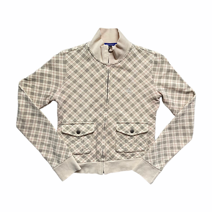 Burberry Nova Check Zip-Up Jacket