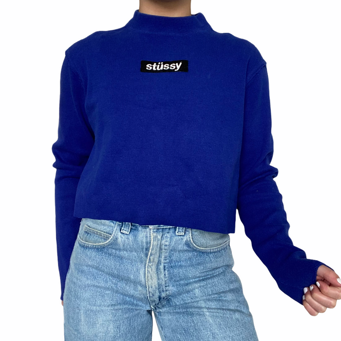 Reworked Stussy Cropped Sweater