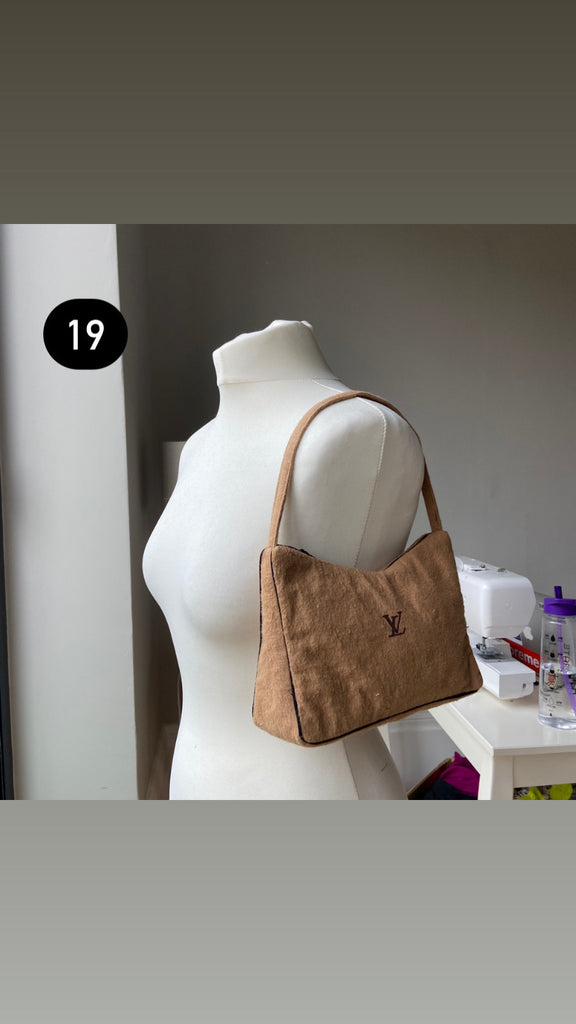 Reworked Designer Shoulder Bags