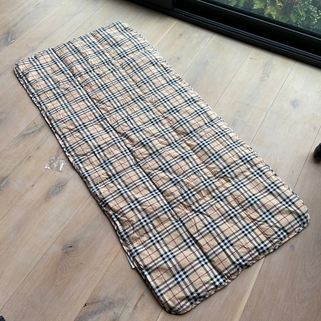 Burberry Nova Check Quilted Throw