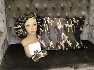 Camouflage Sleep Set