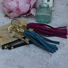 Miller and Jeeves Tassel keyring
